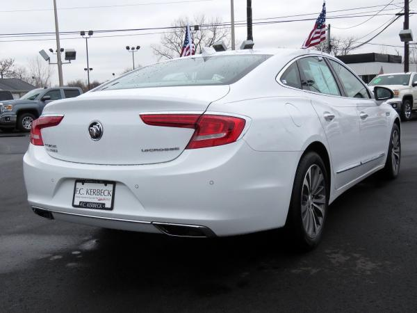 Buick LaCrosse 2018 Summit White For Sale $29419 Stock Number 5939JO 10580_p7