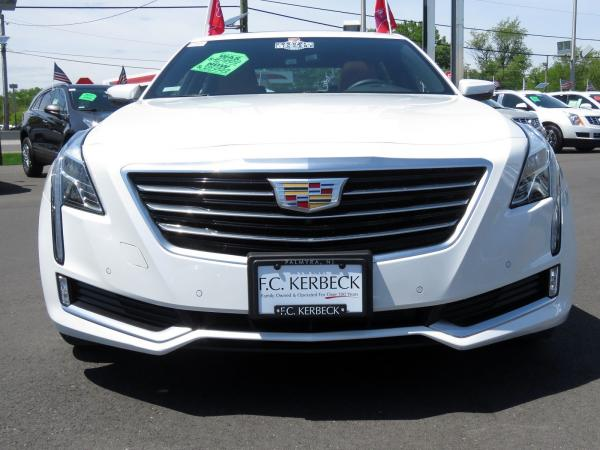Cadillac CT6 2016 Crystal White Tricoat For Sale $42499 Stock Number 67741K 10811_p3