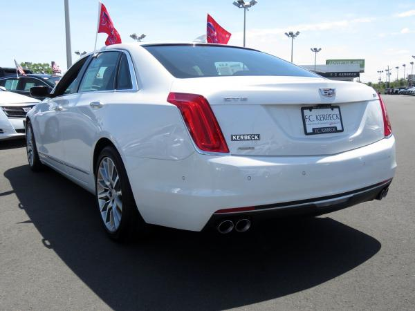 Cadillac CT6 2016 Crystal White Tricoat For Sale $42499 Stock Number 67741K 10811_p5