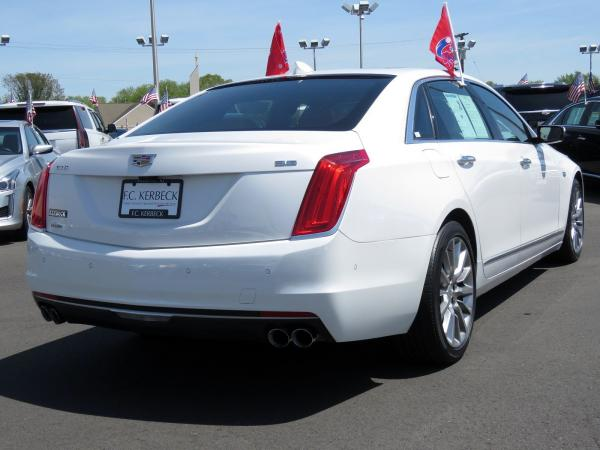 Cadillac CT6 2016 Crystal White Tricoat For Sale $42499 Stock Number 67741K 10811_p7