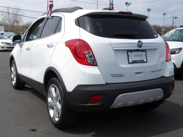 Buick Encore 2016 Summit White For Sale $17014 Stock Number 19B176AJO 10825_p5