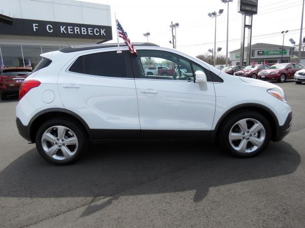 Buick Encore 2016 Summit White For Sale $17014 Stock Number 19B176AJO 10825_p8
