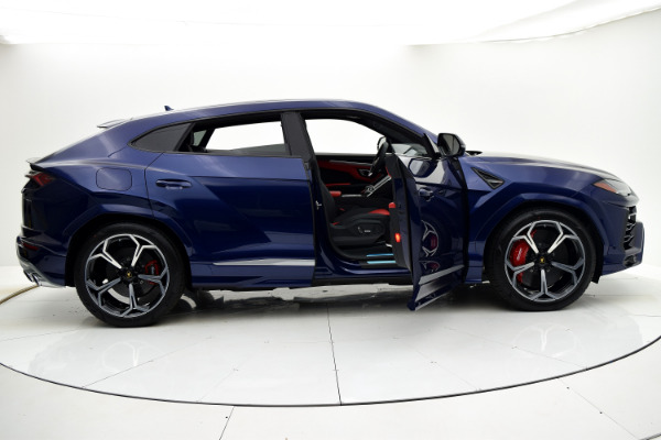 Lamborghini Urus 2019 Blu Astraeus For Sale $240362 Stock Number 19L131 10925_p24