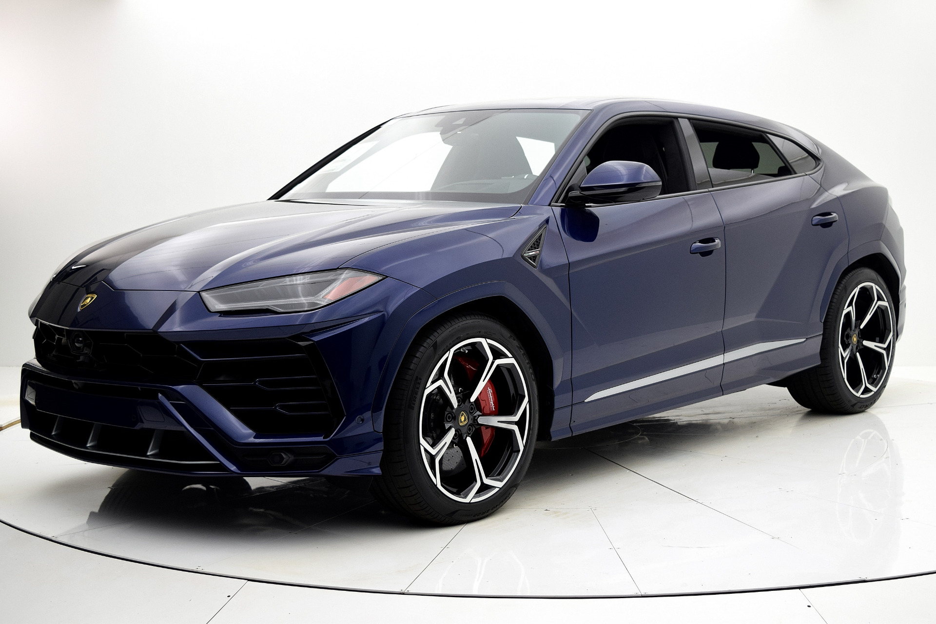 Lamborghini Urus 2019 Blu Astraeus For Sale $240362 Stock Number 19L131