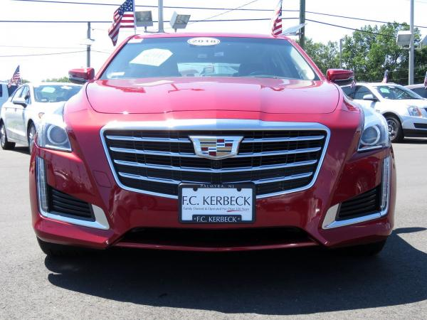 Cadillac CTS Sedan 2018 Red Obsession Tintcoat For Sale $63915 Stock Number 67843K 11131_p3