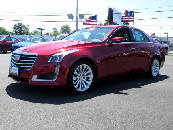 Cadillac CTS Sedan 2018 Red Obsession Tintcoat For Sale $63915 Stock Number 67843K 11131_p4