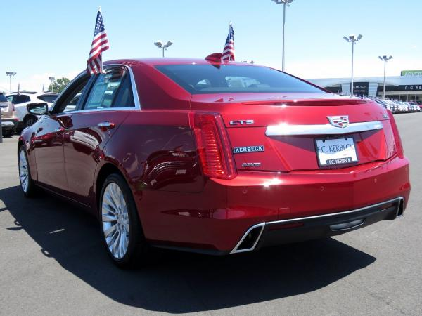 Cadillac CTS Sedan 2018 Red Obsession Tintcoat For Sale $63915 Stock Number 67843K 11131_p5