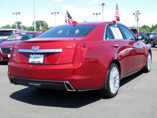 Cadillac CTS Sedan 2018 Red Obsession Tintcoat For Sale $63915 Stock Number 67843K 11131_p7
