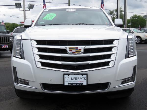 Cadillac Escalade ESV 2018 Crystal White Tricoat For Sale $90635 Stock Number 67844K 11132_p3