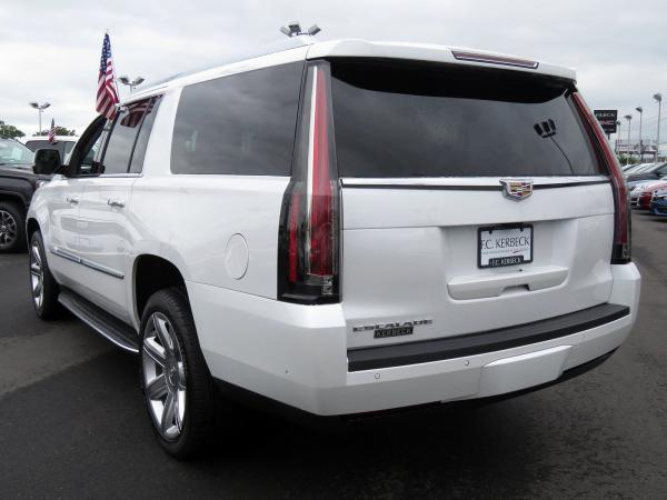 Cadillac Escalade ESV 2018 Crystal White Tricoat For Sale $90635 Stock Number 67844K 11132_p5