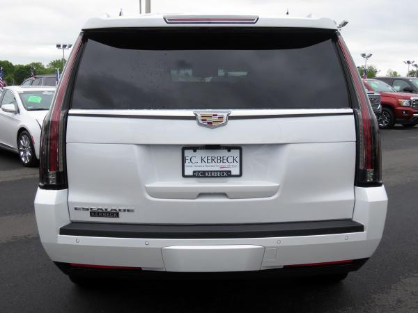 Cadillac Escalade ESV 2018 Crystal White Tricoat For Sale $90635 Stock Number 67844K 11132_p6