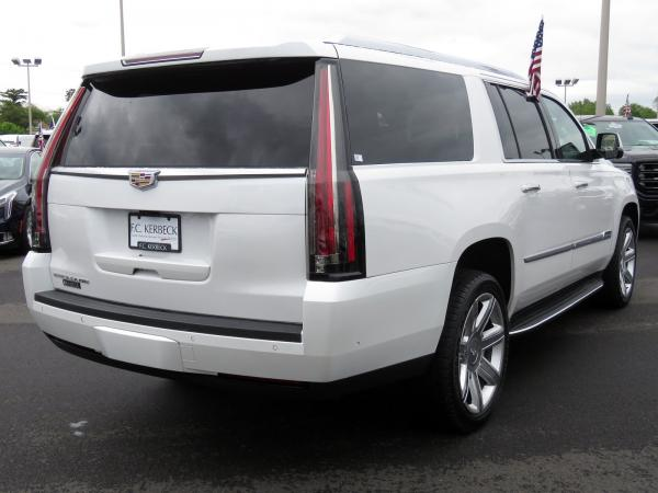 Cadillac Escalade ESV 2018 Crystal White Tricoat For Sale $90635 Stock Number 67844K 11132_p7