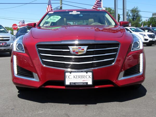 Cadillac CTS Sedan 2016 Red Obsession Tintcoat For Sale $31599 Stock Number 67848K 11153_p3