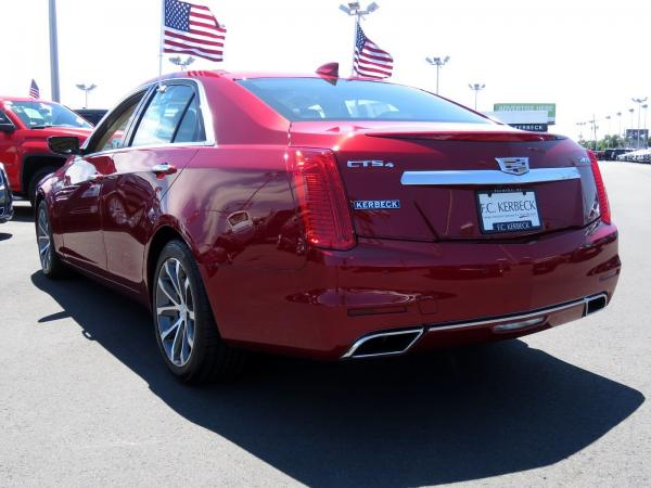Cadillac CTS Sedan 2016 Red Obsession Tintcoat For Sale $31599 Stock Number 67848K 11153_p5