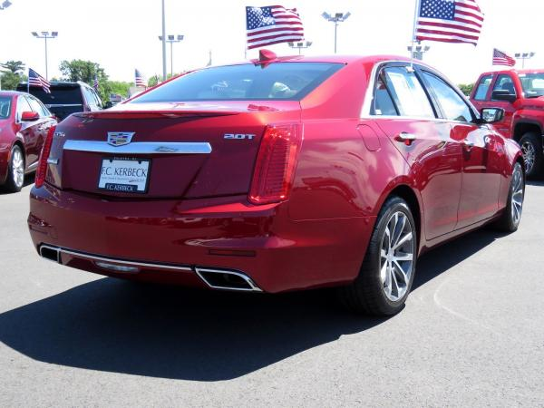 Cadillac CTS Sedan 2016 Red Obsession Tintcoat For Sale $31599 Stock Number 67848K 11153_p7