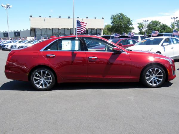 Cadillac CTS Sedan 2016 Red Obsession Tintcoat For Sale $31599 Stock Number 67848K 11153_p8