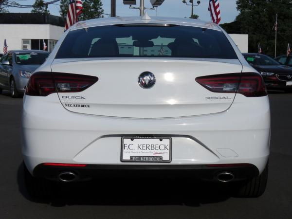 Buick Regal Sportback 2018 Summit White For Sale $25059 Stock Number 5976JO 11265_p6