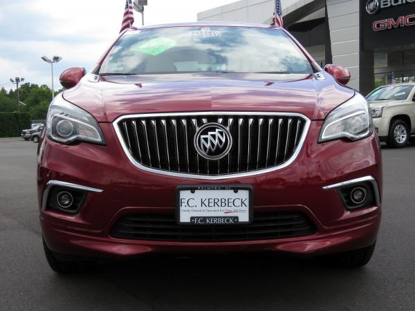 Buick Envision 2017 Chili Red Metallilc For Sale $23068 Stock Number 19G641AJO 11289_p3