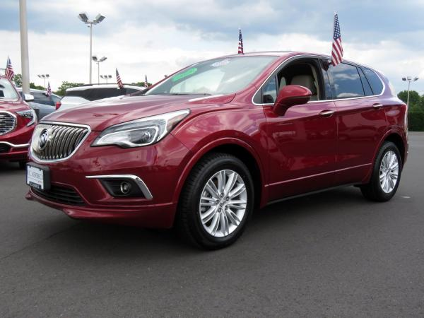 Buick Envision 2017 Chili Red Metallilc For Sale $23068 Stock Number 19G641AJO 11289_p4