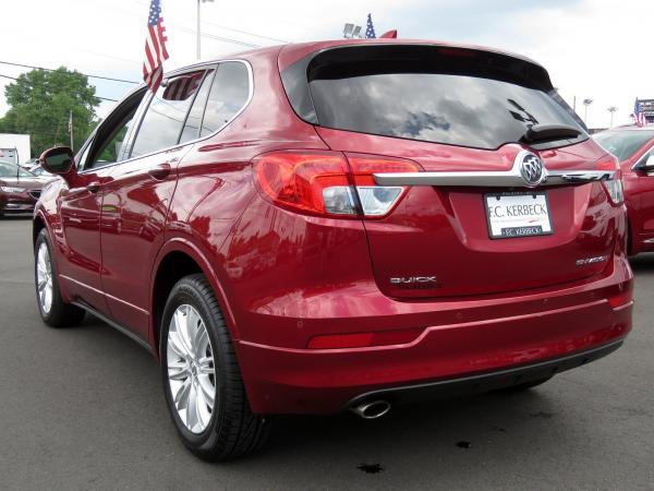 Buick Envision 2017 Chili Red Metallilc For Sale $23068 Stock Number 19G641AJO 11289_p5