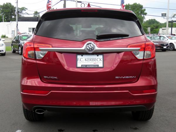 Buick Envision 2017 Chili Red Metallilc For Sale $23068 Stock Number 19G641AJO 11289_p6