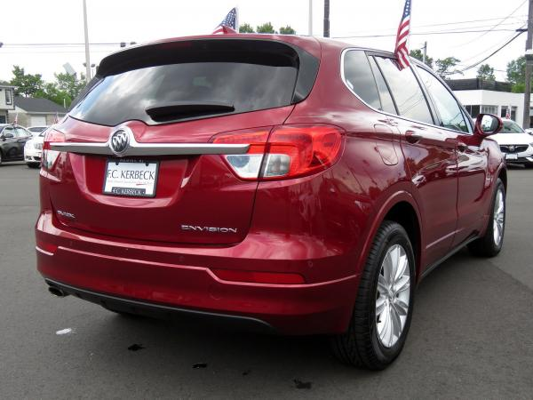 Buick Envision 2017 Chili Red Metallilc For Sale $23068 Stock Number 19G641AJO 11289_p7