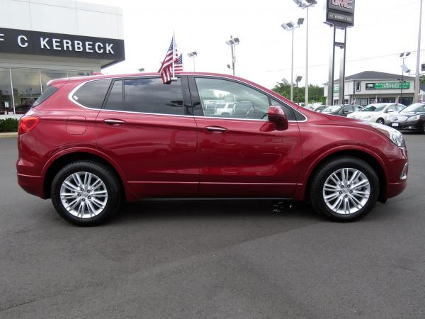 Buick Envision 2017 Chili Red Metallilc For Sale $23068 Stock Number 19G641AJO 11289_p8