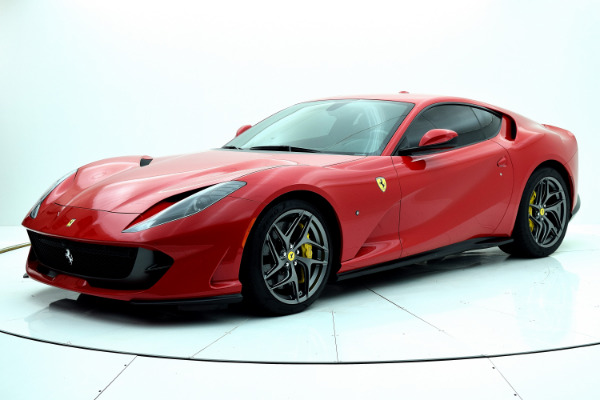 Ferrari 812 Superfast 2019 Rosso Corsa For Sale $425661 Stock Number 19L120AJI 11314_p2