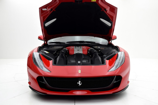 Ferrari 812 Superfast 2019 Rosso Corsa For Sale $425661 Stock Number 19L120AJI 11314_p35