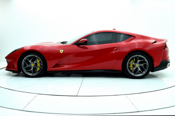 Ferrari 812 Superfast 2019 Rosso Corsa For Sale $425661 Stock Number 19L120AJI 11314_p3