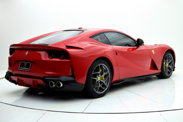 Ferrari 812 Superfast 2019 Rosso Corsa For Sale $425661 Stock Number 19L120AJI 11314_p6