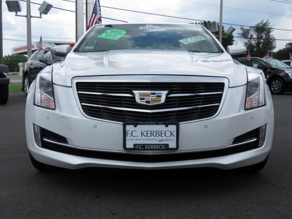 Cadillac ATS Coupe 2016 Crystal White Tricoat For Sale $32689 Stock Number 67904K 11399_p3