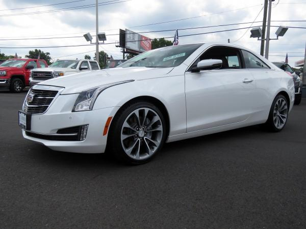 Cadillac ATS Coupe 2016 Crystal White Tricoat For Sale $32689 Stock Number 67904K 11399_p4