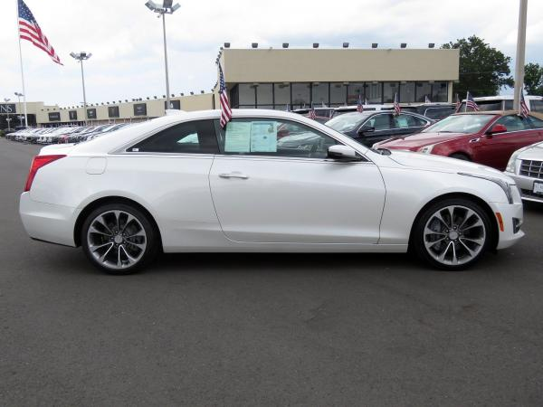 Cadillac ATS Coupe 2016 Crystal White Tricoat For Sale $32689 Stock Number 67904K 11399_p8