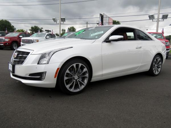 Cadillac ATS Coupe 2017 Crystal White Tricoat For Sale $51230 Stock Number 67954K 11508_p4