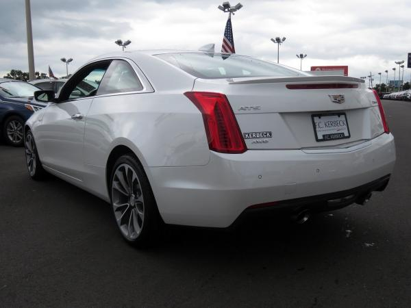 Cadillac ATS Coupe 2017 Crystal White Tricoat For Sale $51230 Stock Number 67954K 11508_p5