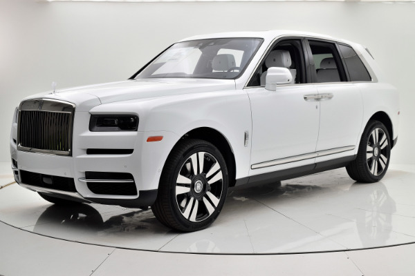 Rolls-Royce Cullinan 2019 Arctic White For Sale $397750 Stock Number 20L101AJI 11575_p10