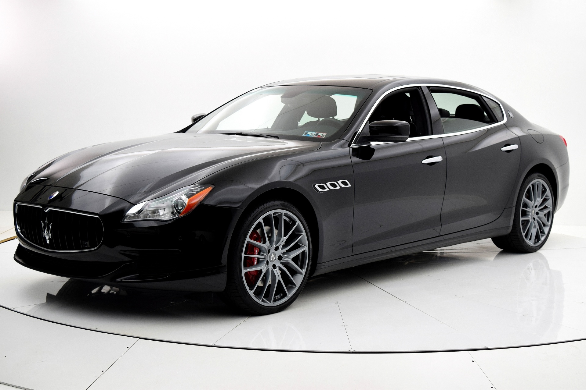 used 2014 maserati quattroporte s q4 for sale 54 880 fc kerbeck lamborghini palmyra n j. Black Bedroom Furniture Sets. Home Design Ideas