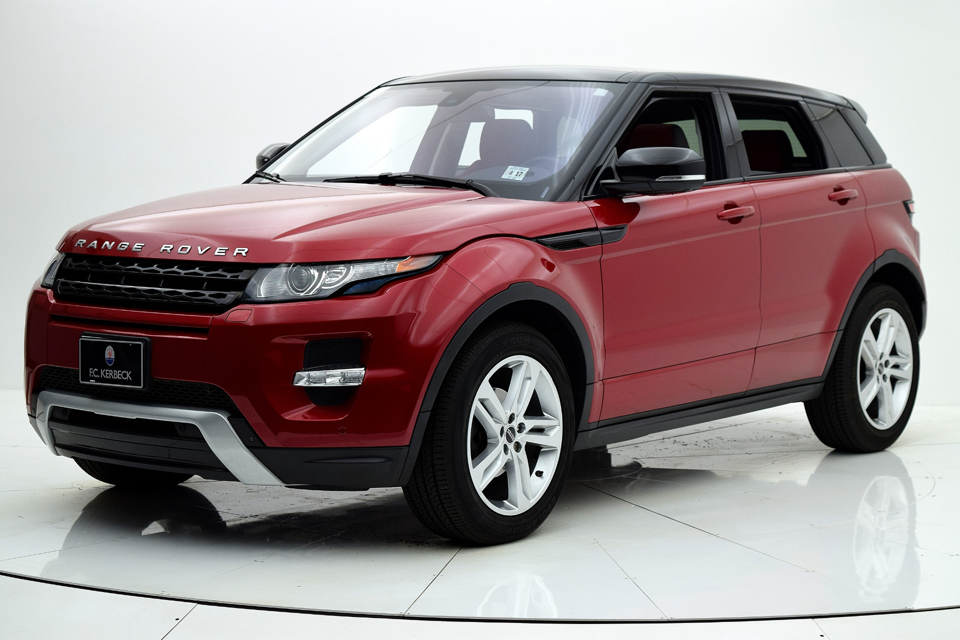 used 2012 land rover range rover evoque dynamic for sale 32 880 fc kerbeck lamborghini. Black Bedroom Furniture Sets. Home Design Ideas