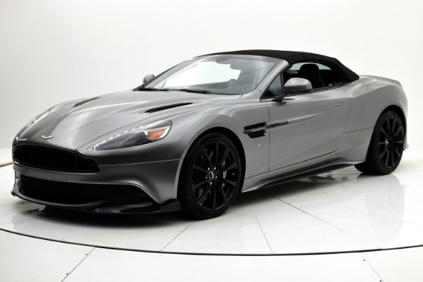 Aston Martin Vanquish 2018 Tungsten Silver For Sale $359899 Stock Number 18A102 6582_p37