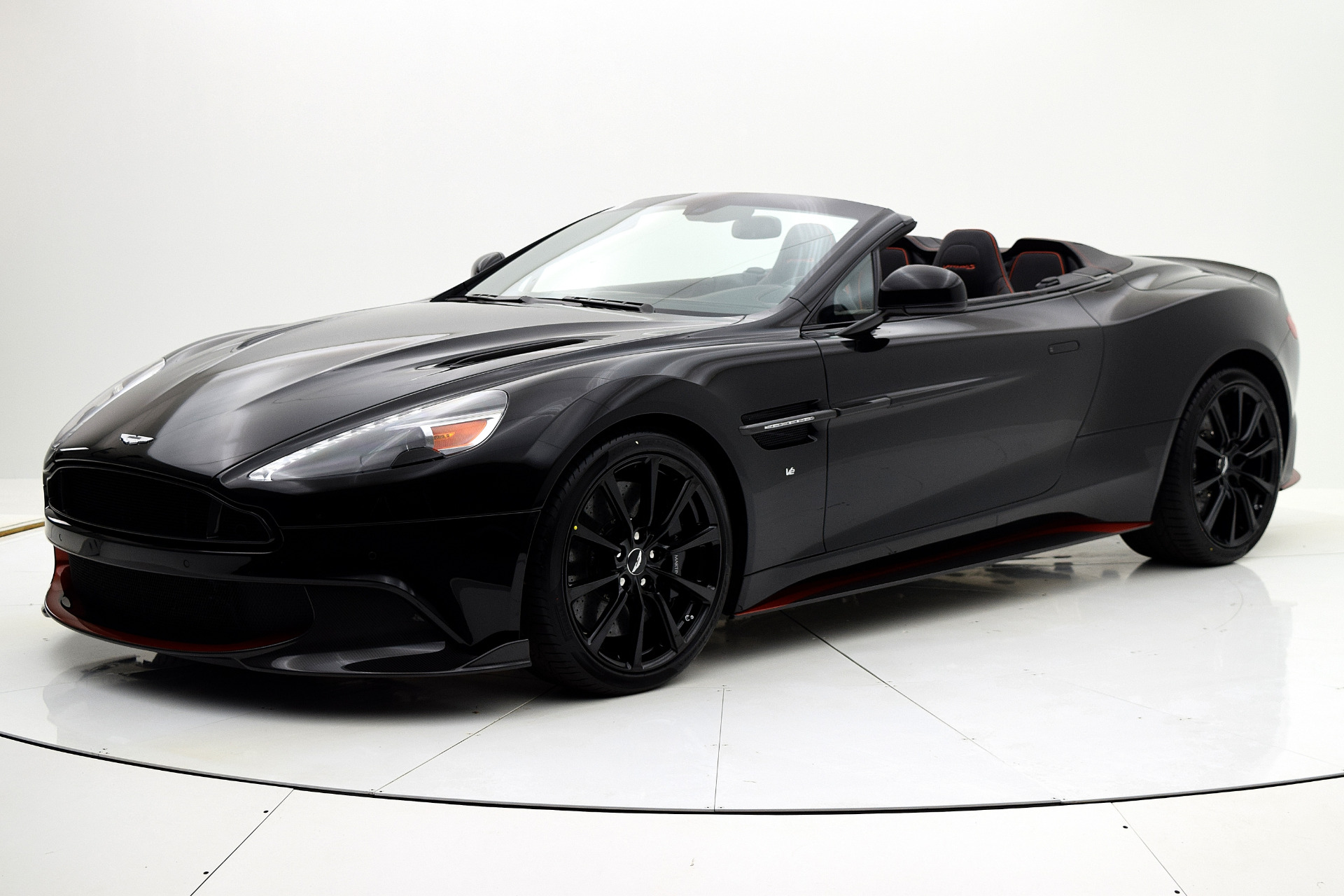 Aston Martin Vanquish 2018 Jet Black For Sale $352204 Stock Number 18A109