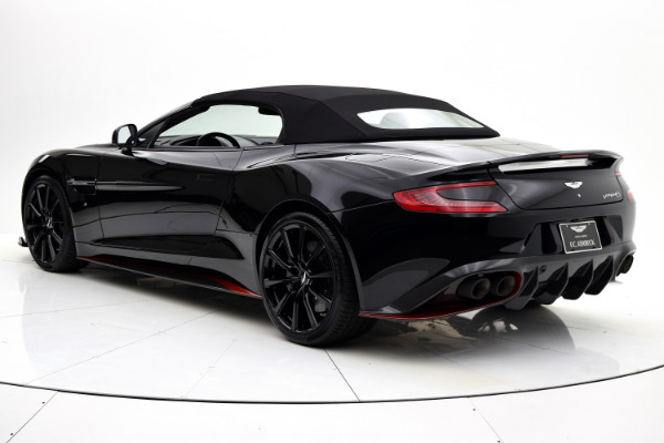 Aston Martin Vanquish 2018 Jet Black For Sale $352204 Stock Number 18A109 6654_p39