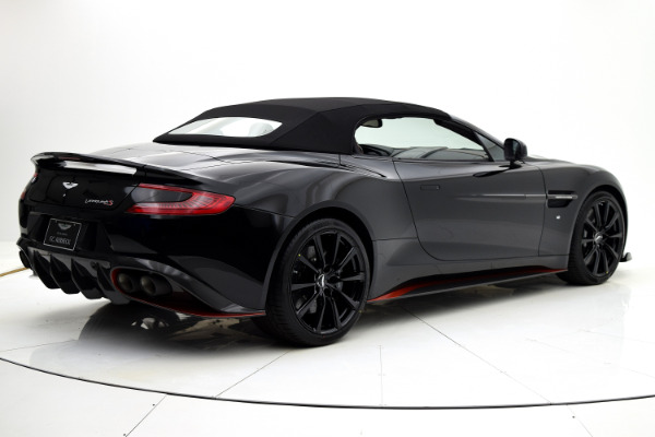 Aston Martin Vanquish 2018 Jet Black For Sale $352204 Stock Number 18A109 6654_p41