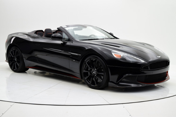 Aston Martin Vanquish 2018 Jet Black For Sale $352204 Stock Number 18A109 6654_p8