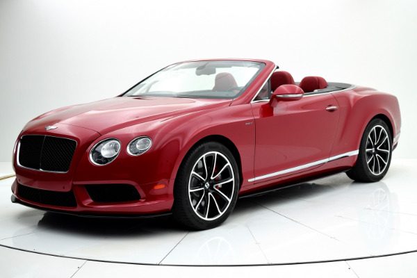 Bentley Continental GT V8 S 2014 Dragon Red For Sale $127880 Stock Number 1499JI 7101_p10