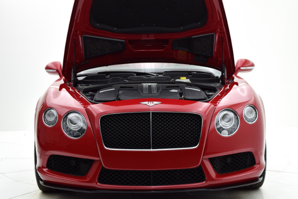 Bentley Continental GT V8 S 2014 Dragon Red For Sale $127880 Stock Number 1499JI 7101_p29