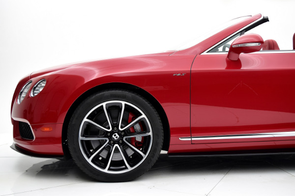 Bentley Continental GT V8 S 2014 Dragon Red For Sale $127880 Stock Number 1499JI 7101_p32