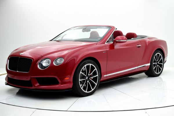 Bentley Continental GT V8 S 2014 Dragon Red For Sale $127880 Stock Number 1499JI 7101_p40