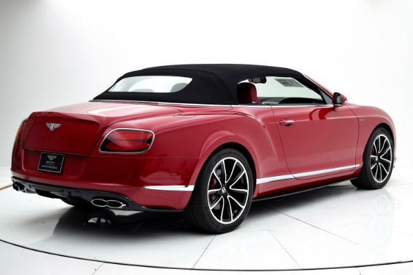 Bentley Continental GT V8 S 2014 Dragon Red For Sale $127880 Stock Number 1499JI 7101_p46