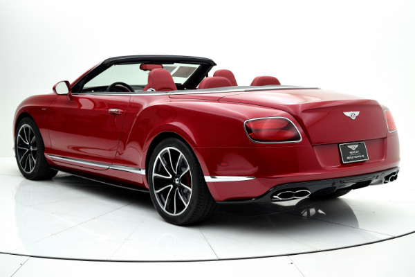 Bentley Continental GT V8 S 2014 Dragon Red For Sale $127880 Stock Number 1499JI 7101_p4